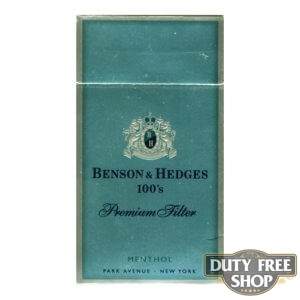 Пачка сигарет Benson & Hedges 100's Menthol Premium USA
