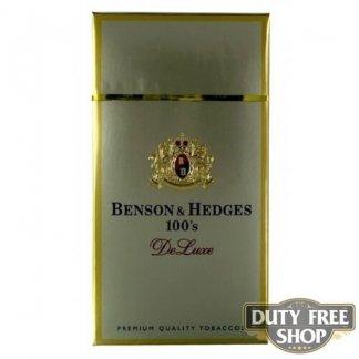 Пачка сигарет Benson & Hedges 100's DeLuxe USA