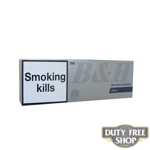 Блок сигарет Benson & Hedges Silver Duty Free