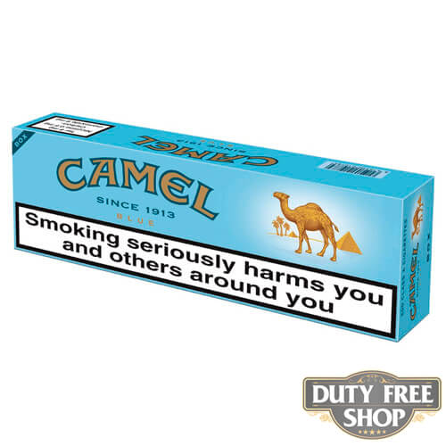 Блок сигарет Camel Blue Duty Free