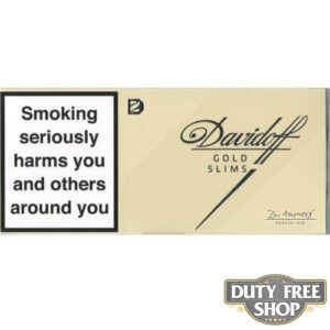 Блок сигарет Davidoff Slims Gold Duty Free