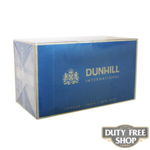 Блок сигарет Dunhill International Blue Duty Free