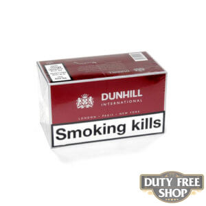 Блок сигарет Dunhill International Duty Free