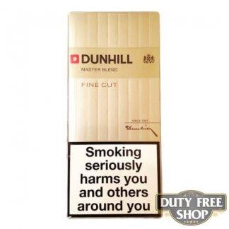 Блок сигарет Dunhill Fine Cut Gold Duty Free