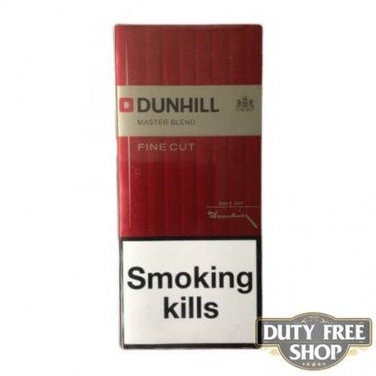 Блок сигарет Dunhill Fine Cut Red Duty Free