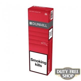Блок сигарет Dunhill Red Duty Free