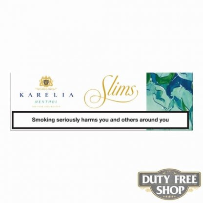 Блок сигарет Karelia Slims Menthol Duty Free - старый дизайн