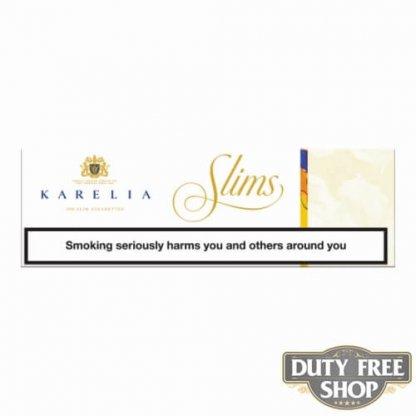 Блок сигарет Karelia Slims Creme Color Duty Free - старый дизайн