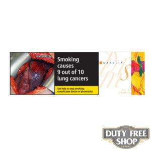Блок сигарет Karelia Slims Duty Free - новый дизайн