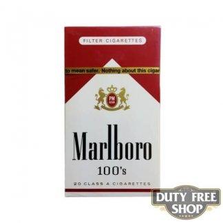 Пачка сигарет Marlboro Red 100's USA (DUTY FREE)