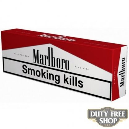 Блок сигарет Marlboro Red Duty Free
