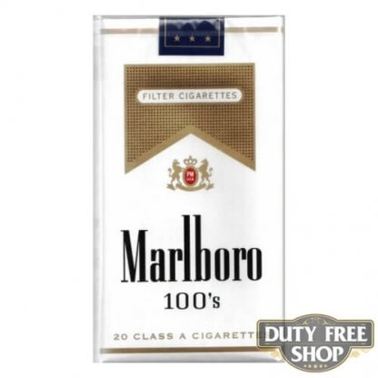Пачка сигарет Marlboro Gold 100's Soft USA