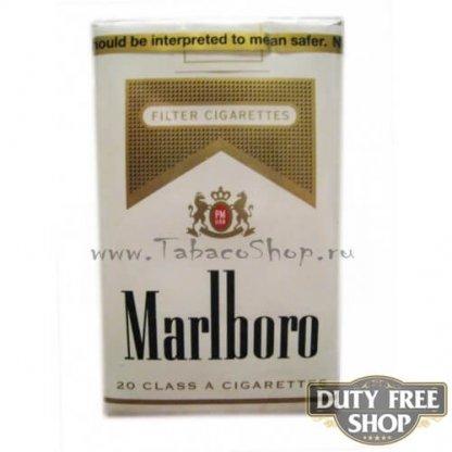 Пачка сигарет Marlboro Gold Soft USA