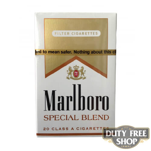 Пачка сигарет Marlboro Gold Special Blend USA