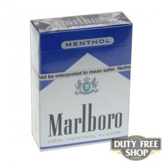 Пачка сигарет Marlboro Menthol Blue 72's USA