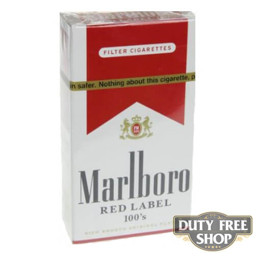 Пачка сигарет Marlboro Red Label (Medium) 100's USA