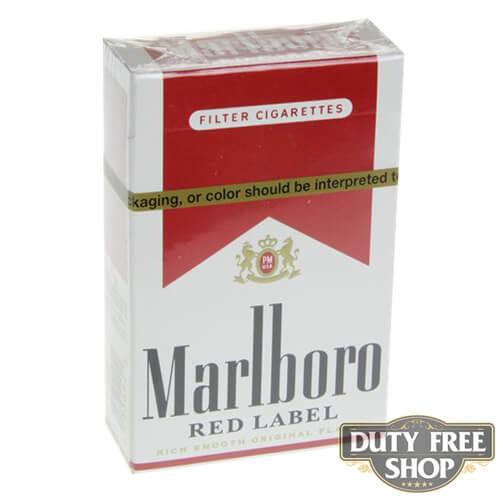Пачка сигарет Marlboro Red Label (Medium) USA