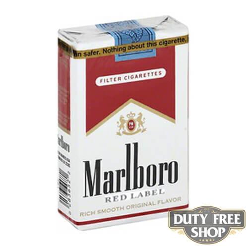 Пачка сигарет Marlboro Red Label (Medium) Soft USA