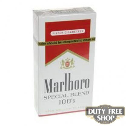Пачка сигарет Marlboro Red Special Blend 100's USA
