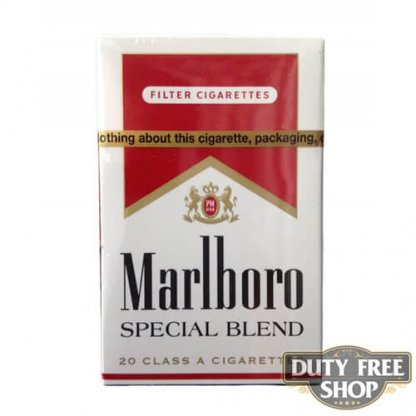 Пачка сигарет Marlboro Red Special Blend USA