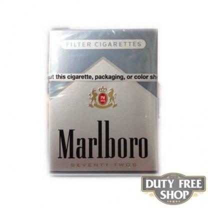 Пачка сигарет Marlboro Silver 72's USA