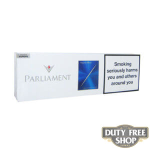 Блок сигарет Parliament Night Blue Duty Free