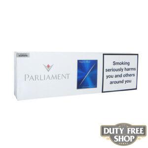 Блок сигарет Parliament Night Blue Duty Free
