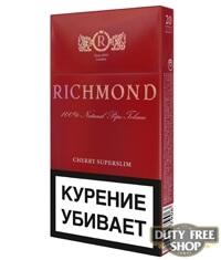 Пачка сигарет Richmond Red Edition (Cherry Superslim) (1 пачка)