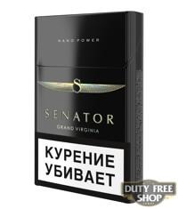 Пачка сигарет Senator Grand Virginia Nano Power