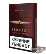Пачка сигарет Senator Original Tobacco Blend (Original Pipe Nano Power) (1 пачка)