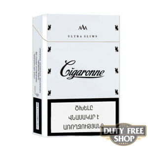 Пачка сигарет Cigaronne Ultra Slims White