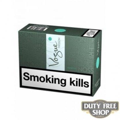 Блок сигарет Vogue Frisson Menthe Duty Free