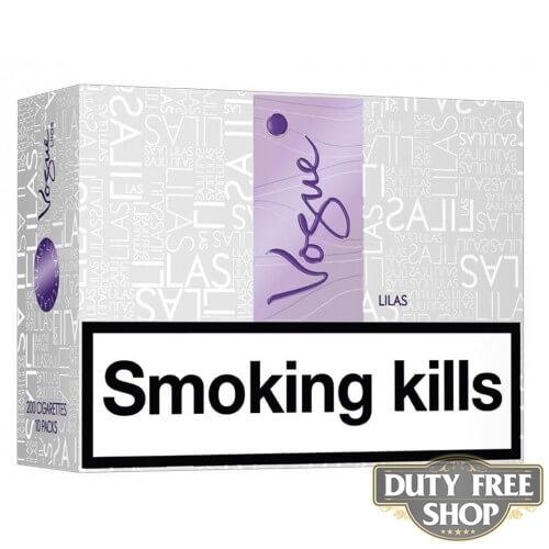 Блок сигарет Vogue Lilas Duty Free