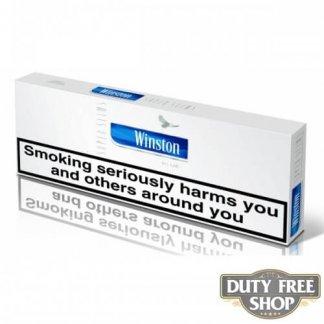 Блок сигарет Winston SuperSlims Blue Duty Free