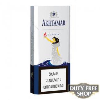 Пачка сигарет Akhtamar Classic Slims 100mm