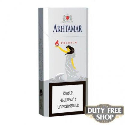 Пачка сигарет Akhtamar Premium Slims 100mm
