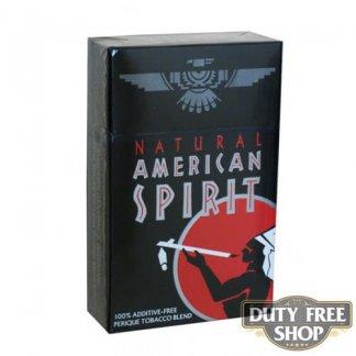 Пачка сигарет American Spirit Black USA