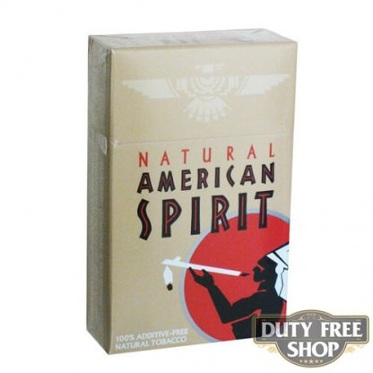 Пачка сигарет American Spirit Brown USA