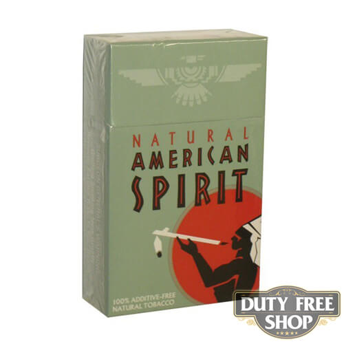 Пачка сигарет American Spirit Celadon USA