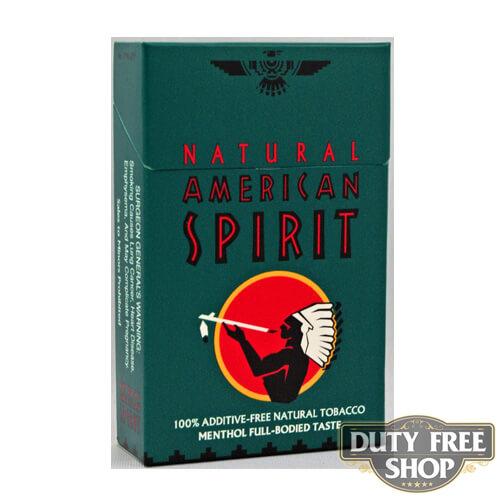 Пачка сигарет American Spirit Dark Green USA