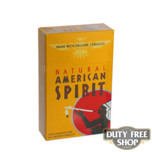Пачка сигарет American Spirit Gold USA