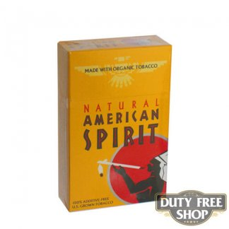 Пачка сигарет American Spirit Gold USA