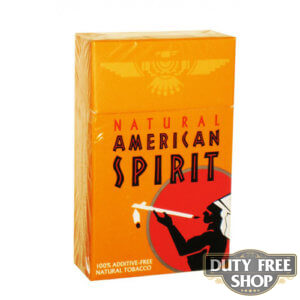 Пачка сигарет American Spirit Orange USA