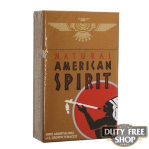 Пачка сигарет American Spirit Tan USA