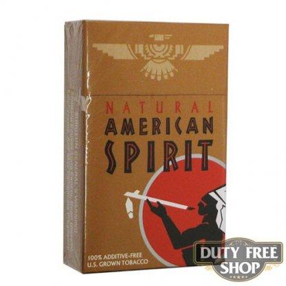 Пачка сигарет American Spirit Tan USA