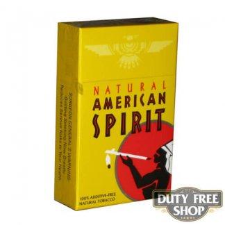 Пачка сигарет American Spirit Yellow USA