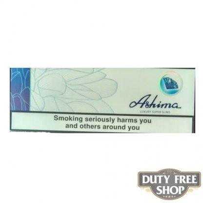 Блок сигарет Ashima Luxury SuperSlims Duty Free