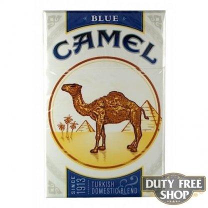 Пачка сигарет Camel Blue USA - старый дизайн
