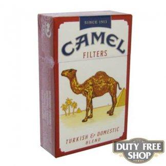 Пачка сигарет Camel Filters USA - новый дизайн