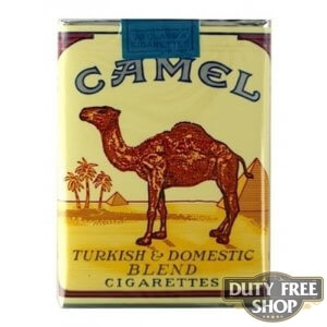 Пачка сигарет Camel Non-filter Soft USA